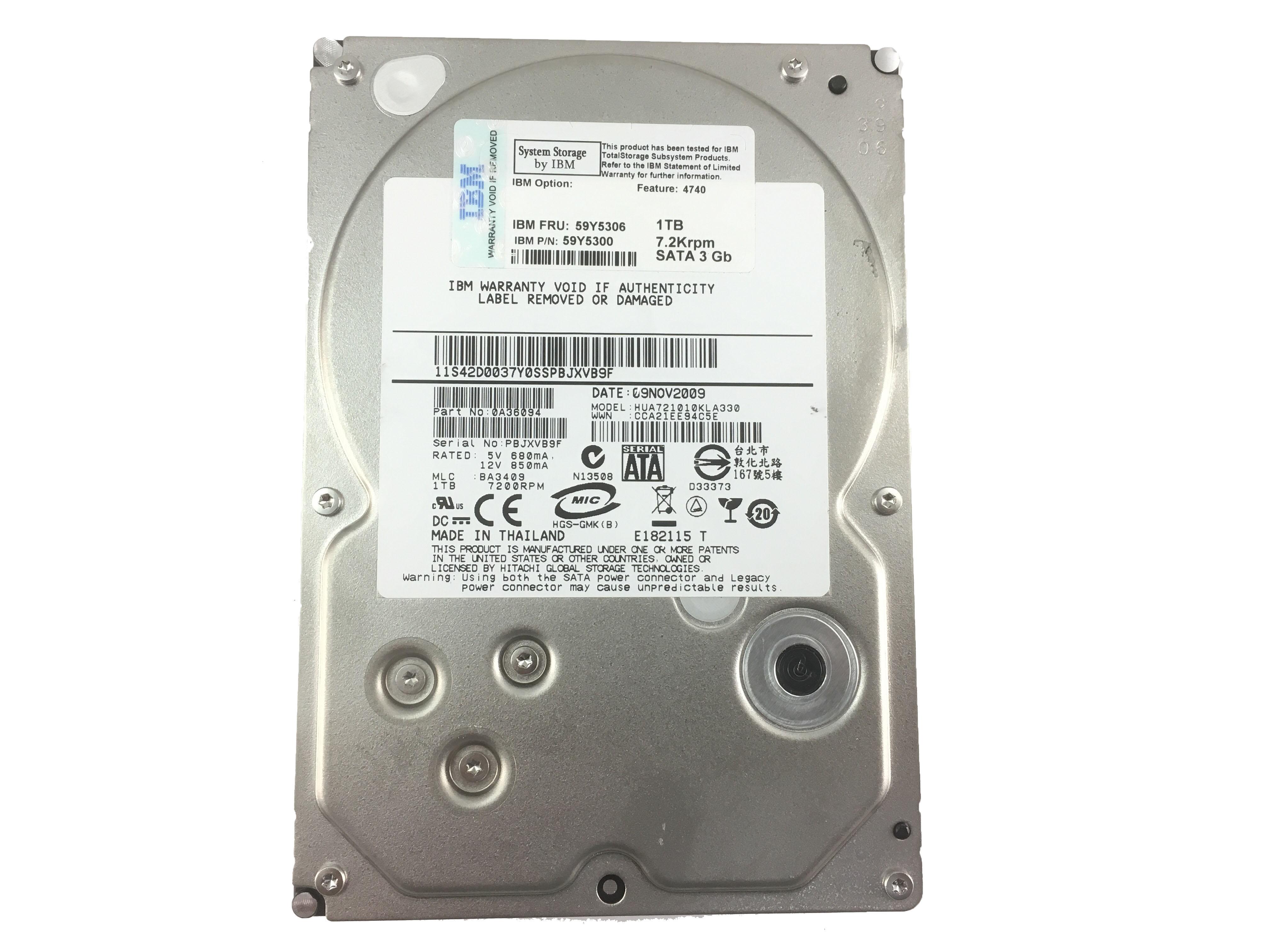 Hitachi 0A35856 1TB Internal Hard Drive