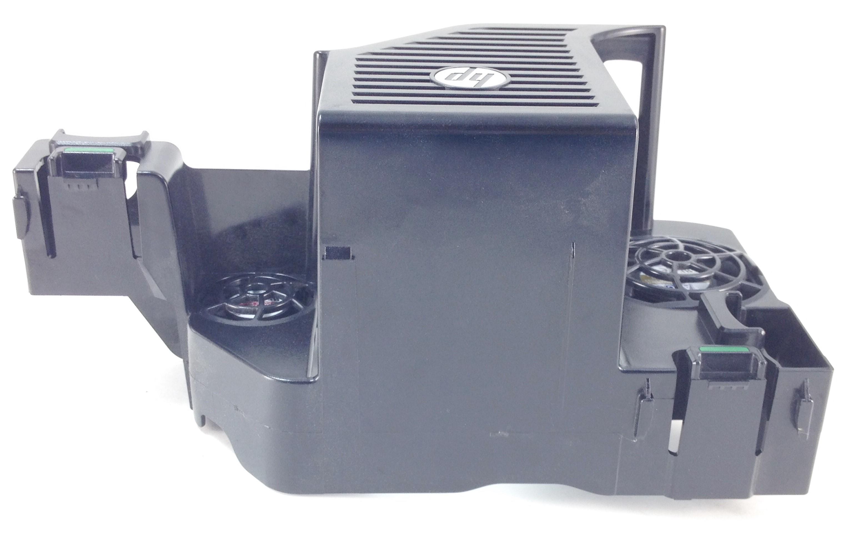 HP Z620 Workstation Memory Fan Shroud Assembly 644316-001 E188375