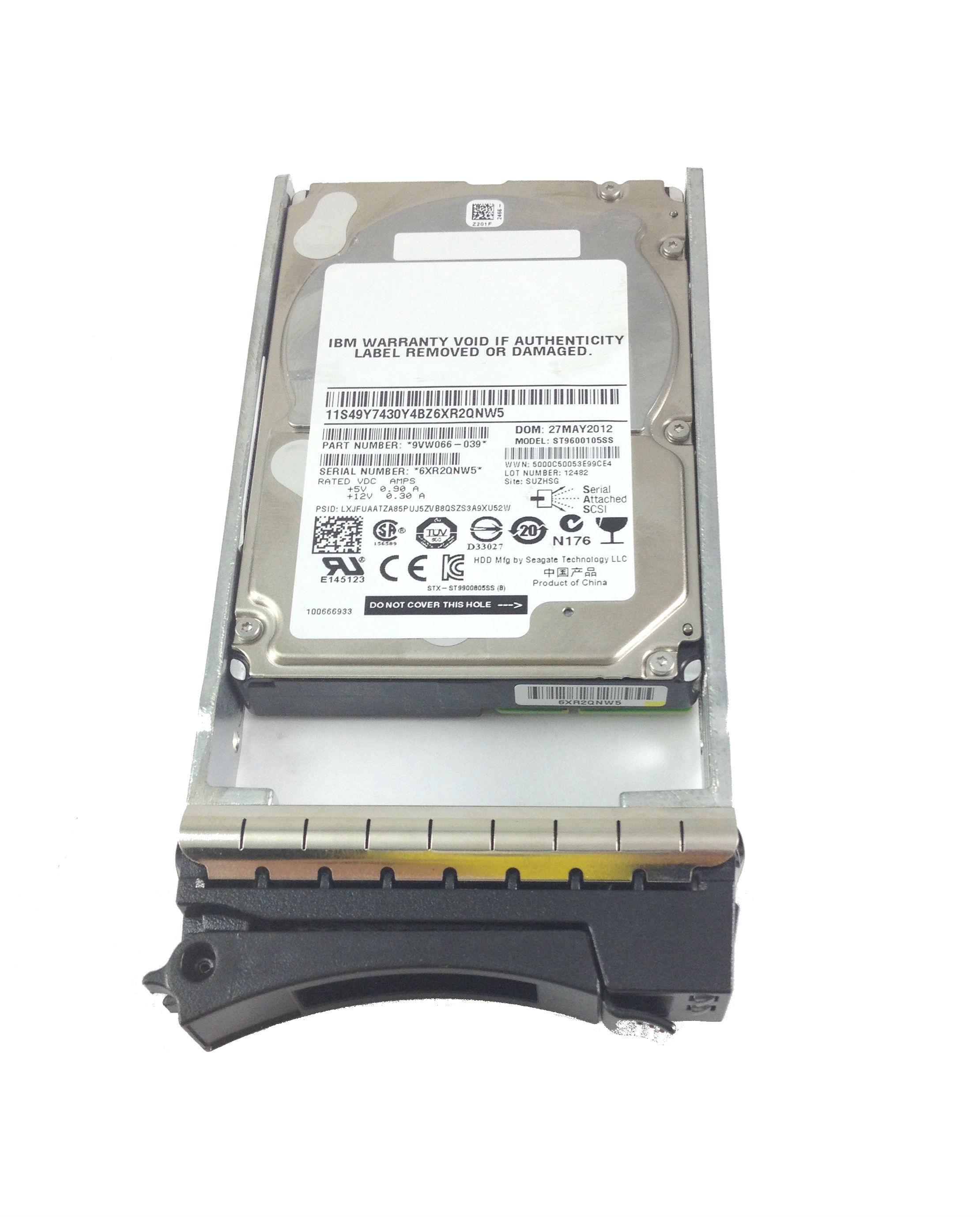 IBM 00Y2430 600GB 10K 6GBPS SAS 2.5 HDD