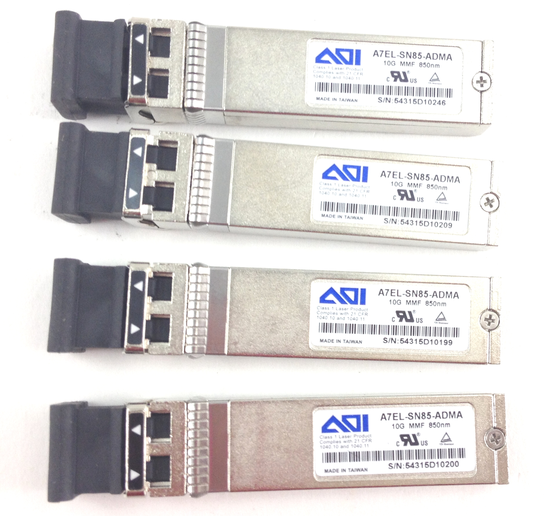 Transceiver Dual LC AOI A7EL-SN85-ADMA 10GB 850nm MMF SFP TESTED