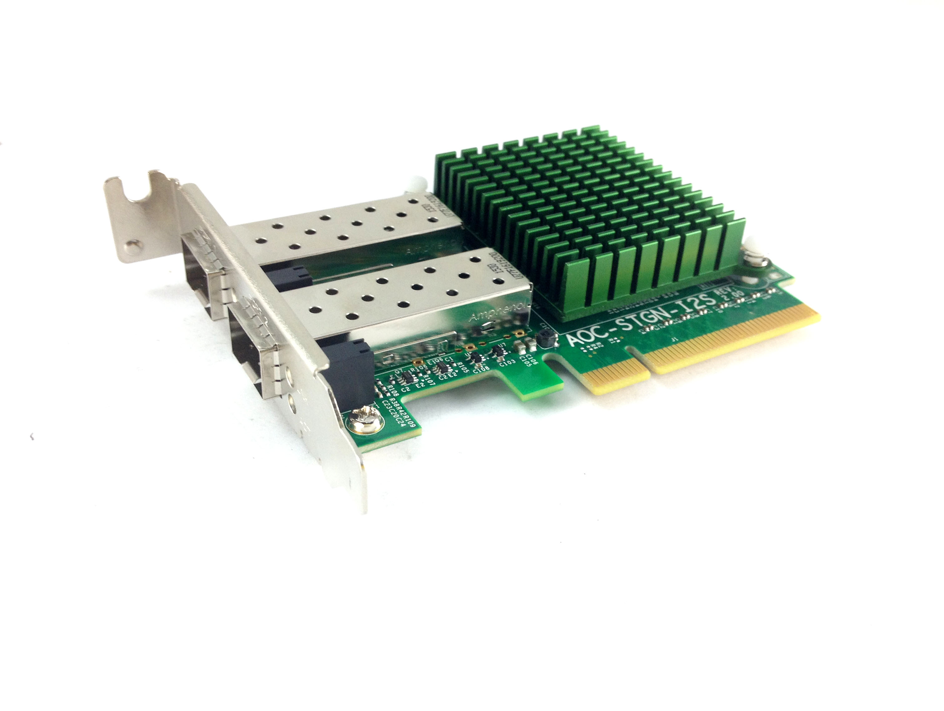 AOC-STGN-I2S Supermicro Rev 2 0 10GbE Dual Port SFP+ Network Card