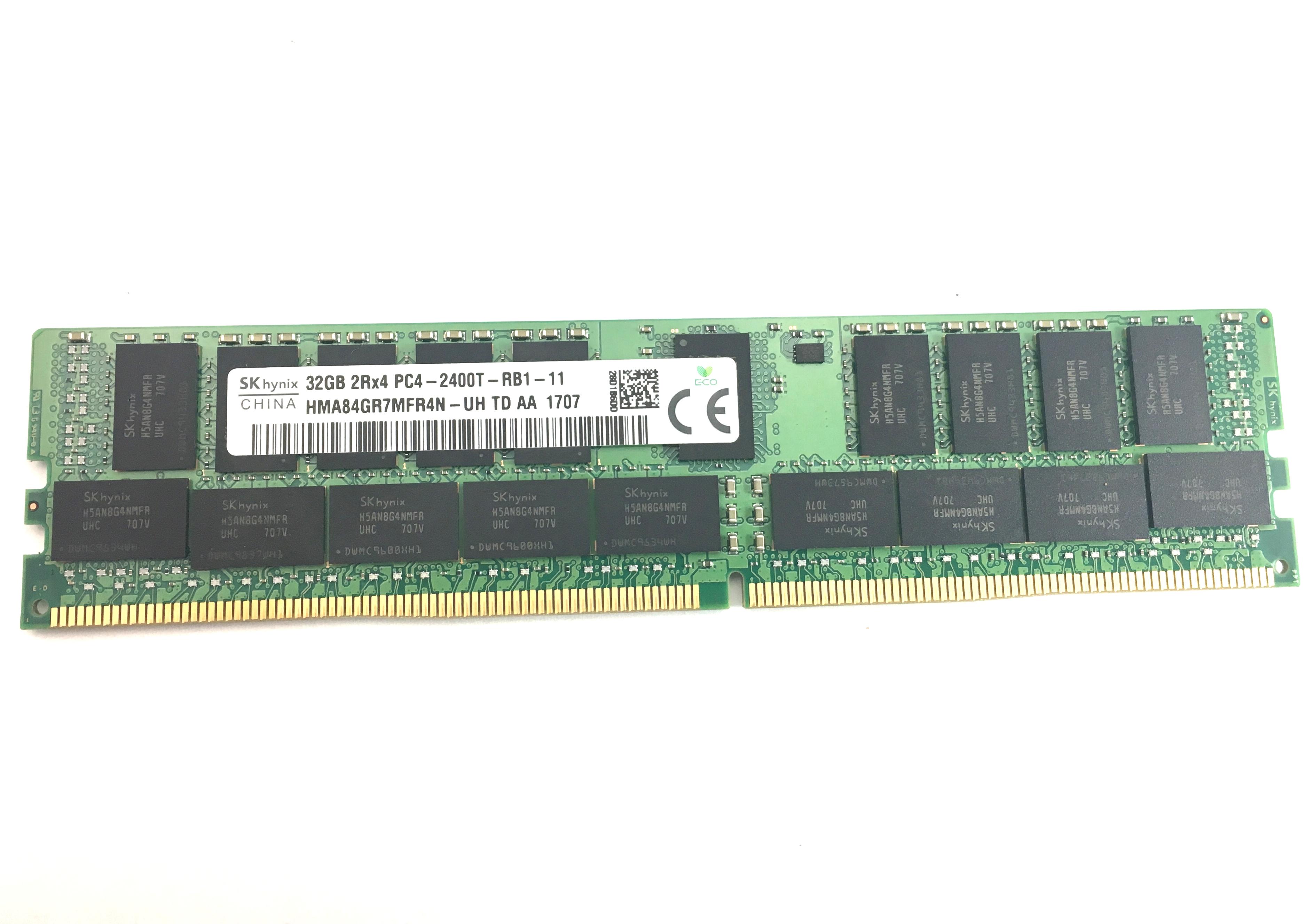 HMA84GR7MFR4N-UH HYNIX 32GB 2RX4 PC4-2400T-R SERVER MEMORY*SHIPS FAST* READ