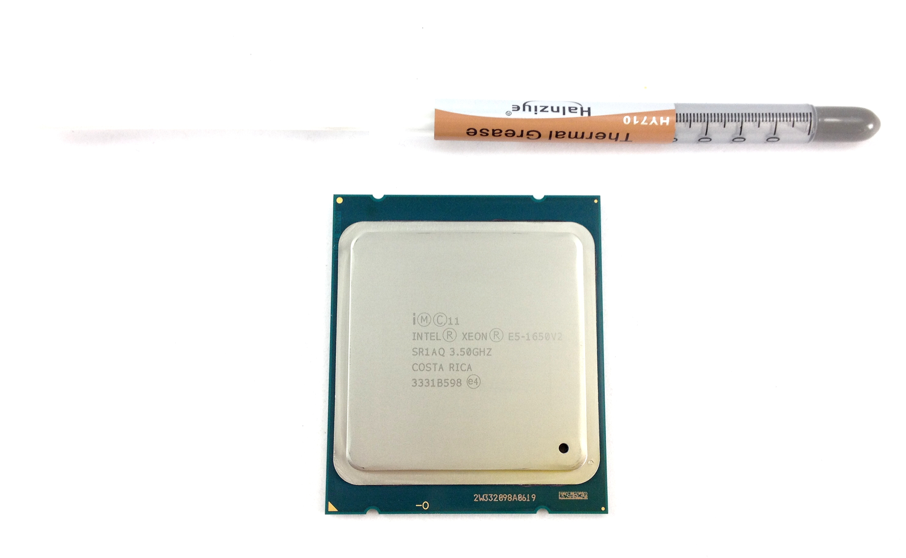 Details about E5-1650V2 Intel Xeon E5-1650 v2 3 5GHz 6 Core 12MB LGA2011  CPU Processor