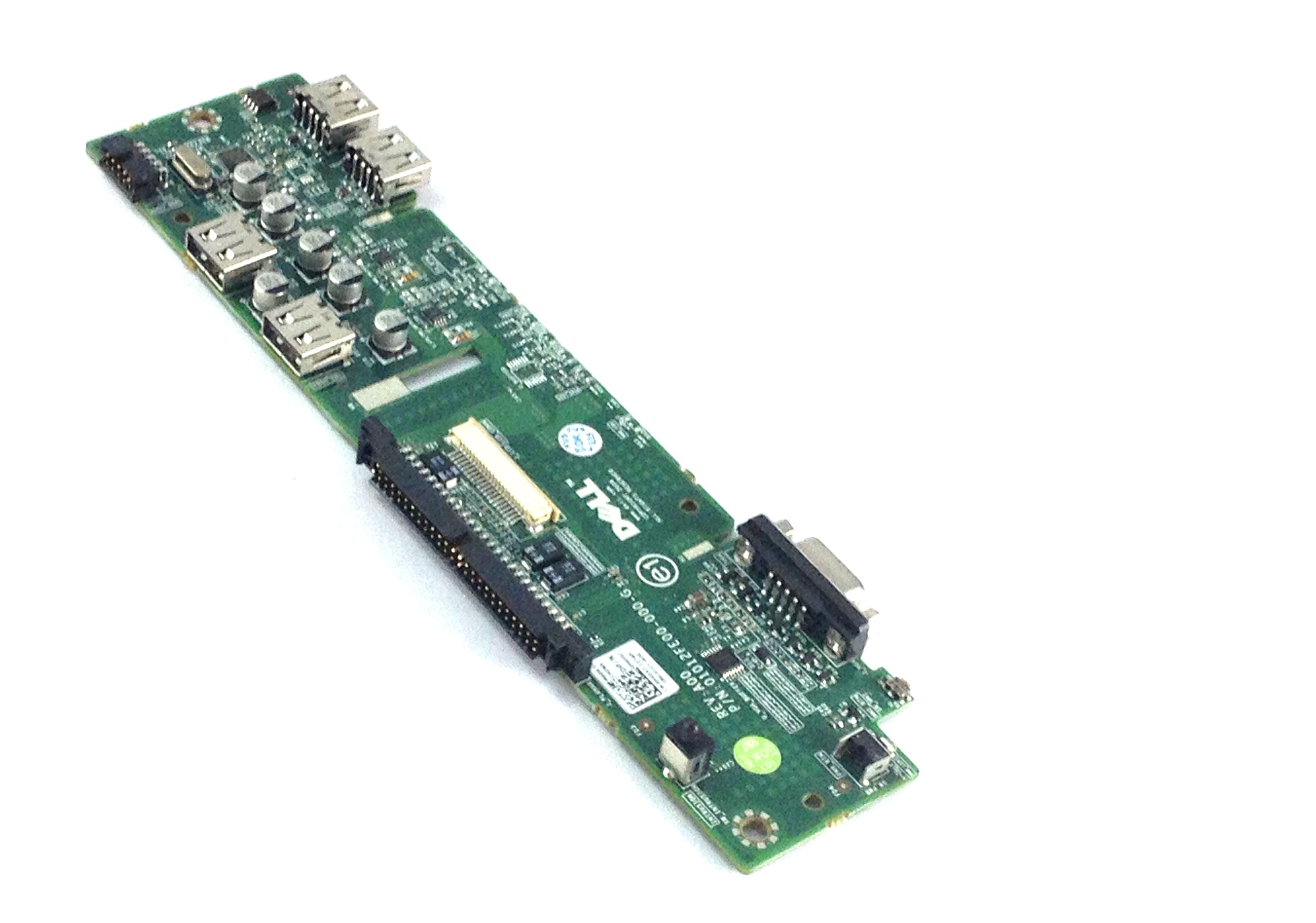 DELL POWEREDGE R510 R515 SERVER USB//VGA CONTROL PANEL BOARD H655J