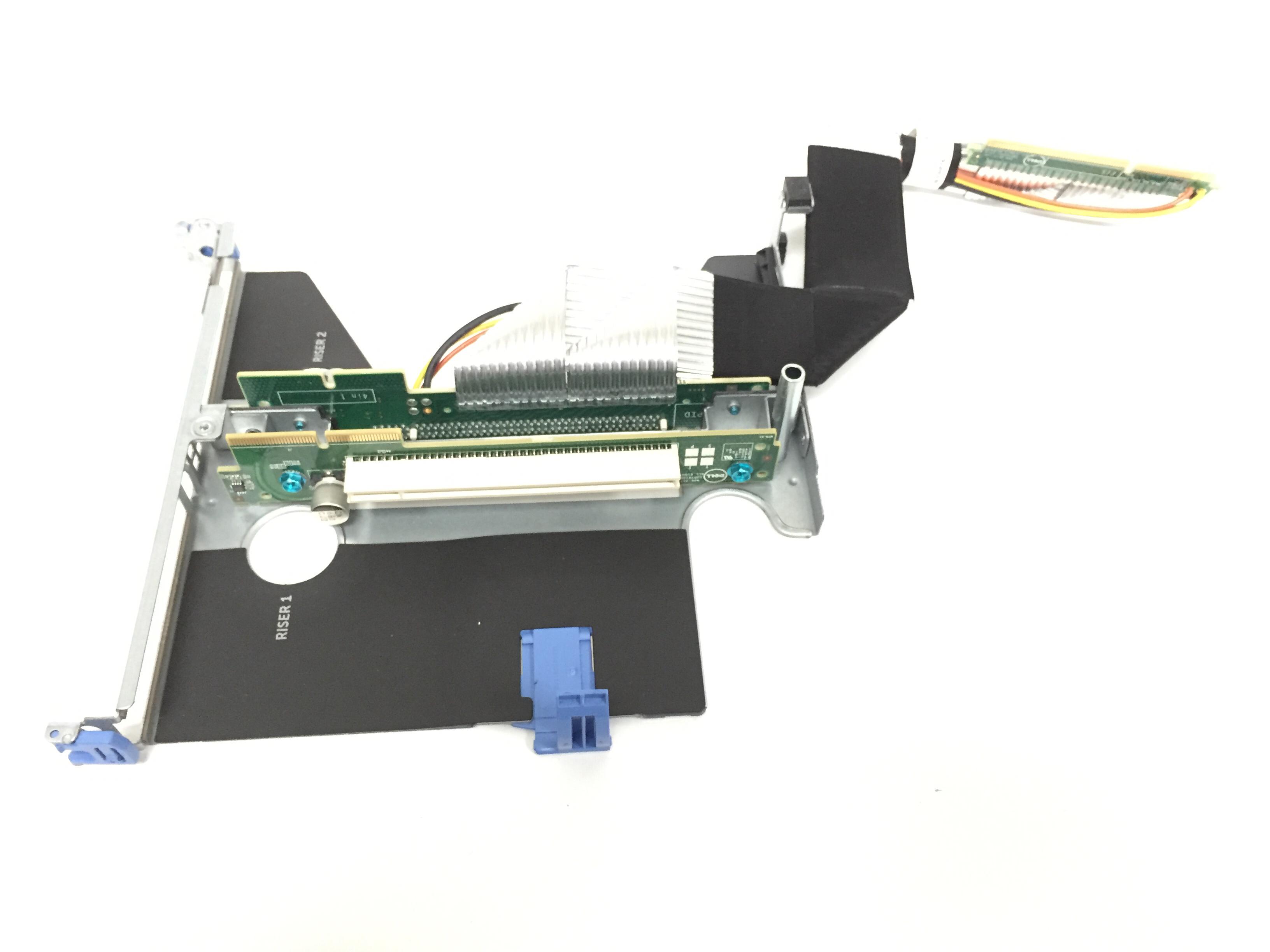 XJ43P Dell PowerEdge C4130 PCI-E Riser Card With Gpu Cable Bay 3//1
