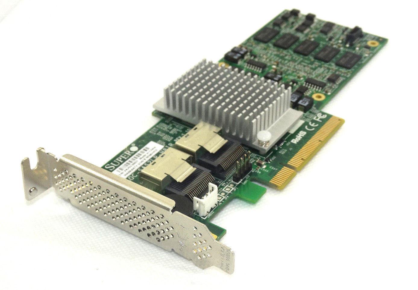 Details about LSI SAS 2108 Supermicro SAS 2108 PCI-E X8 SAS/SATA Raid  Controller