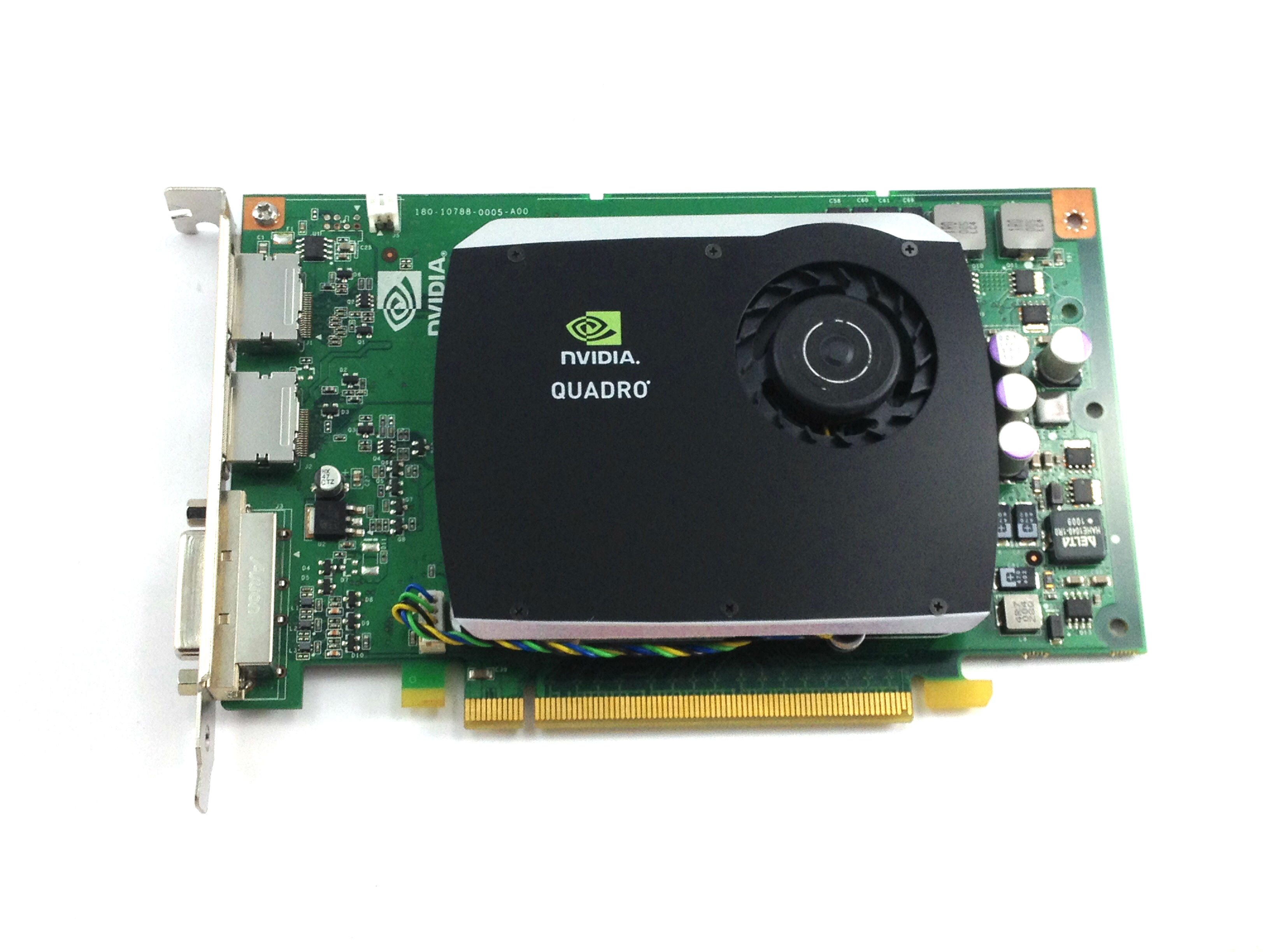 R784K Dell Nvidia Quadro FX 580 512MB DVI Dual Port PCI-E Video Card