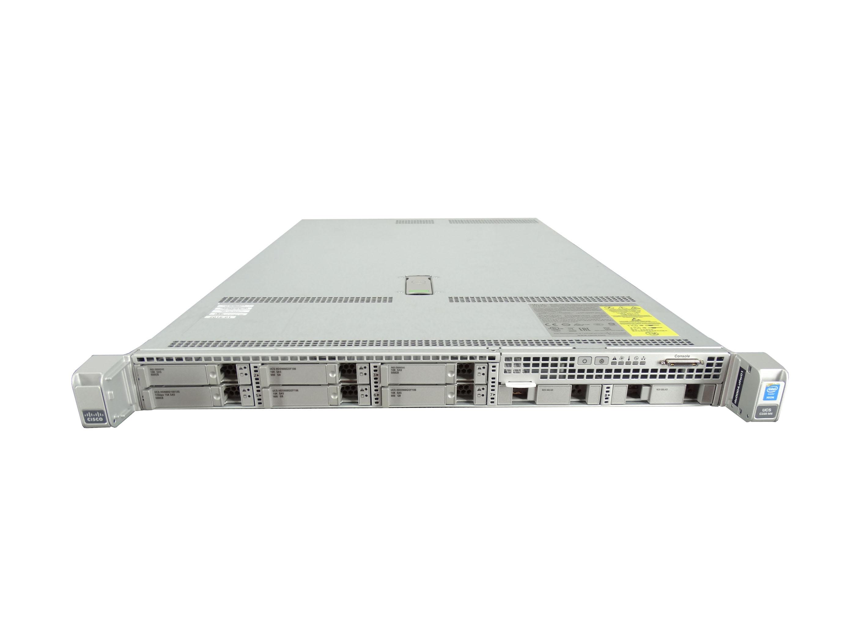 Cisco UCS C220 M4 8-Bay SFF 2x E5-2678 V3 2 5GHz 12C 64GB 4x
