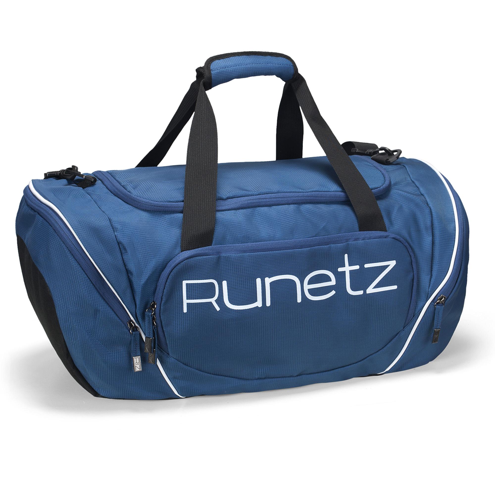 Details about Runetz - Gym Sport Shoulder Bag for Men Women Duffel 20