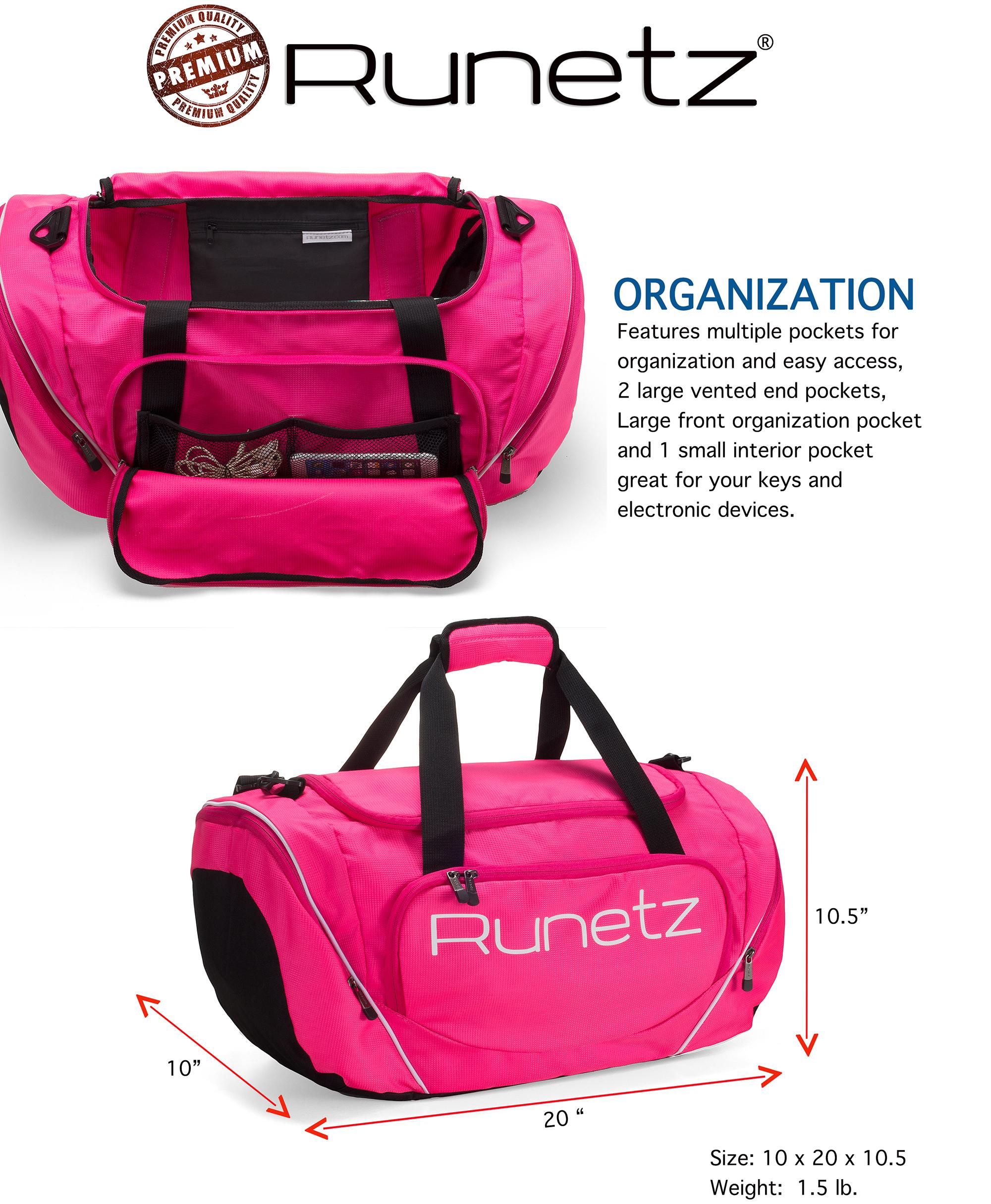 Runetz Gym Duffle Bag - Sports Bag for Men and Women - Ideal Workout 9140c33e72ce1