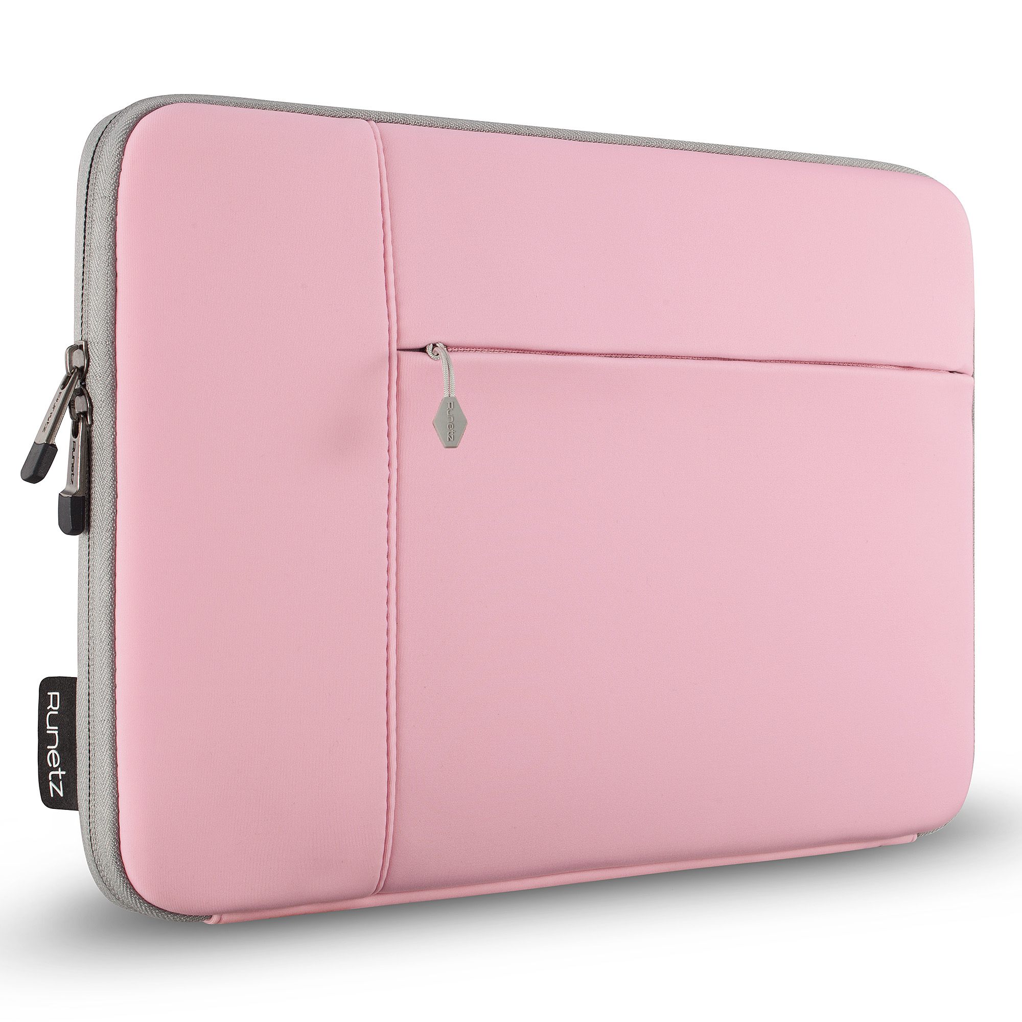 uk availability ee12d 2b65c Details about Runetz - Sleeve for MacBook 12 inch Laptop Air 11 Neoprene  Cover Case PINK/GRAY