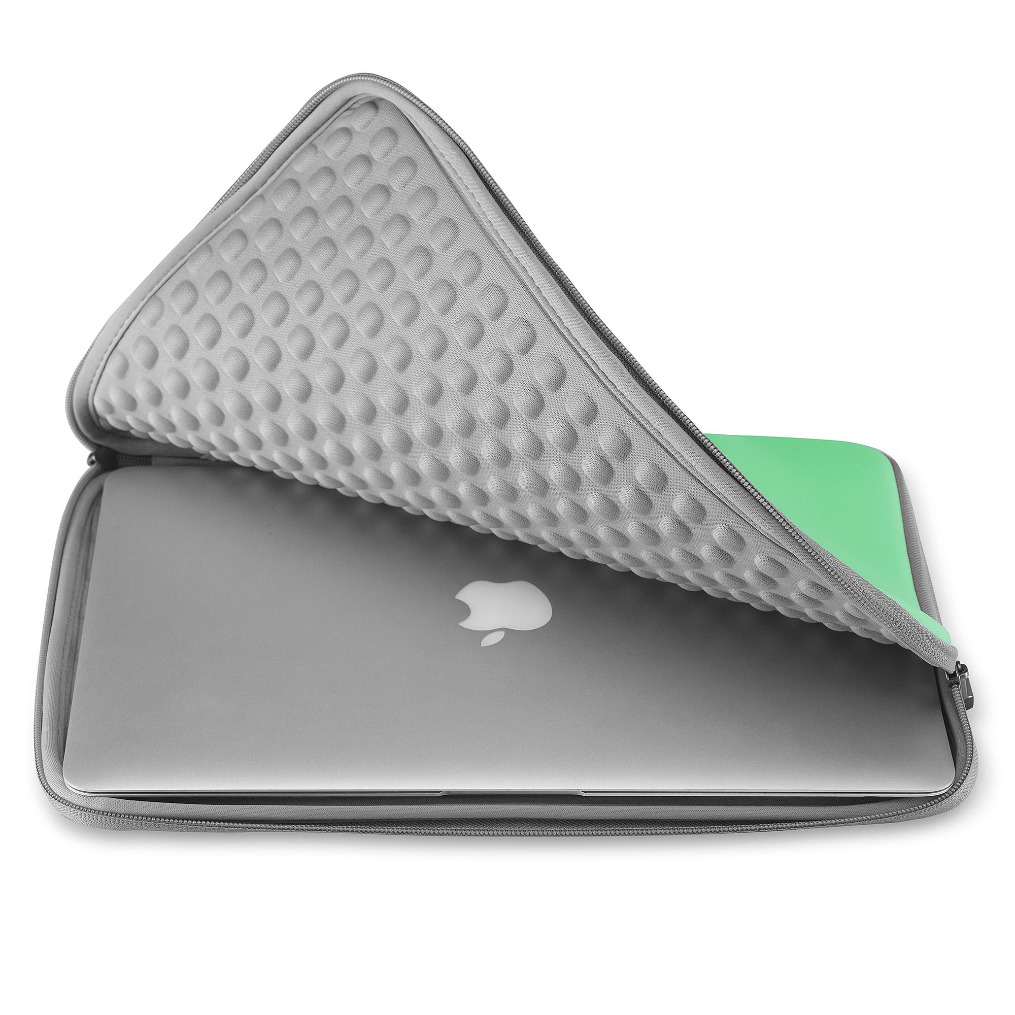 Runetz Sleeve For Macbook Pro 15 Inch Laptop 15 4 Neoprene Cover Case Green 760921893685 Ebay