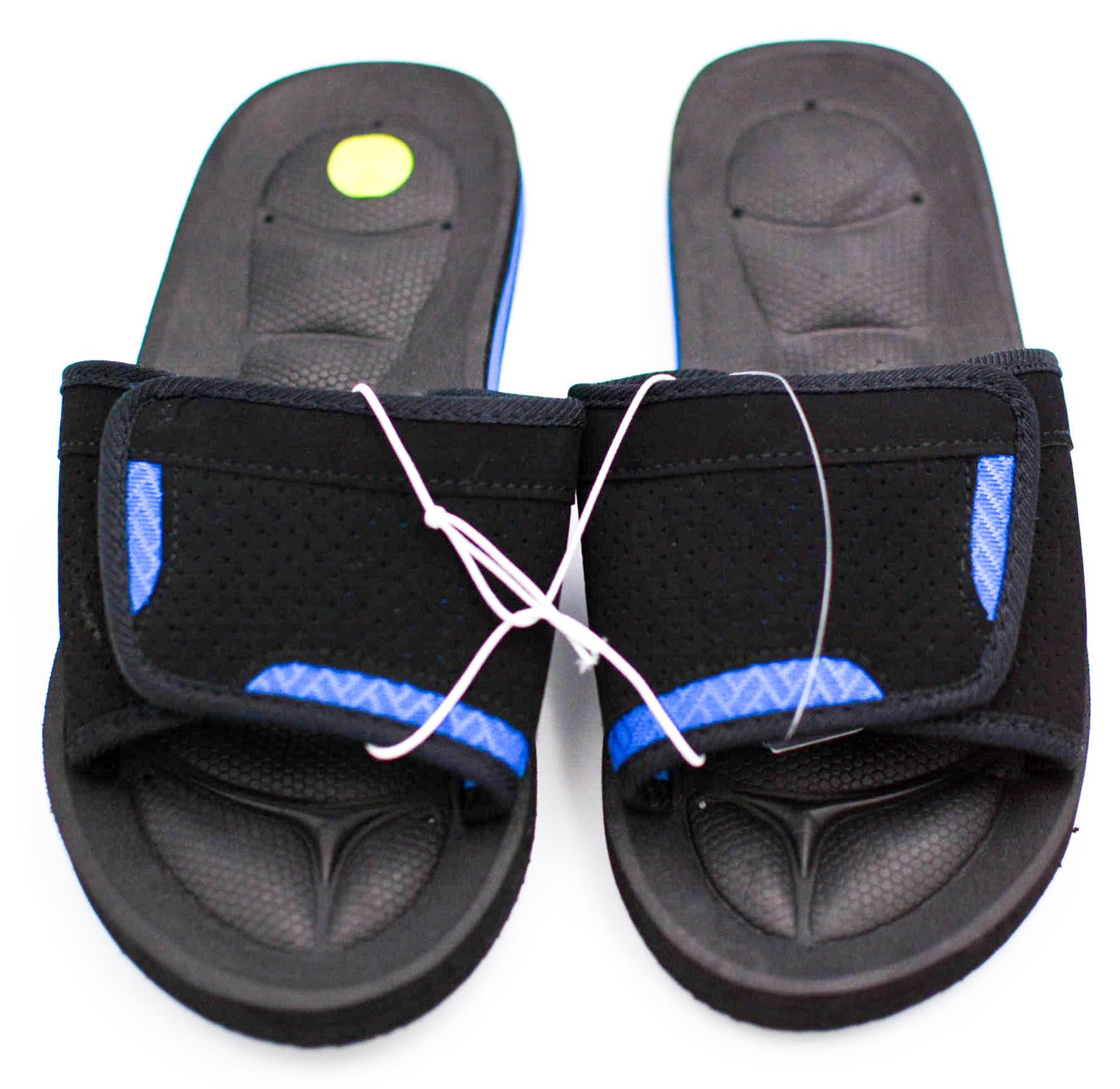 Tek Gear Boys Performance Slide Sandals Arch Support Youth size XL NEW