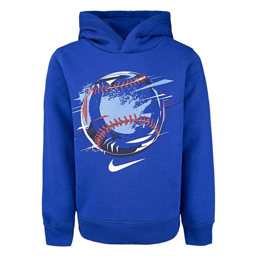 NWT Boys/' Nike SB Logo Pullover Hoodie Sweatshirt Jacket Navy Blue Sz S M L XL