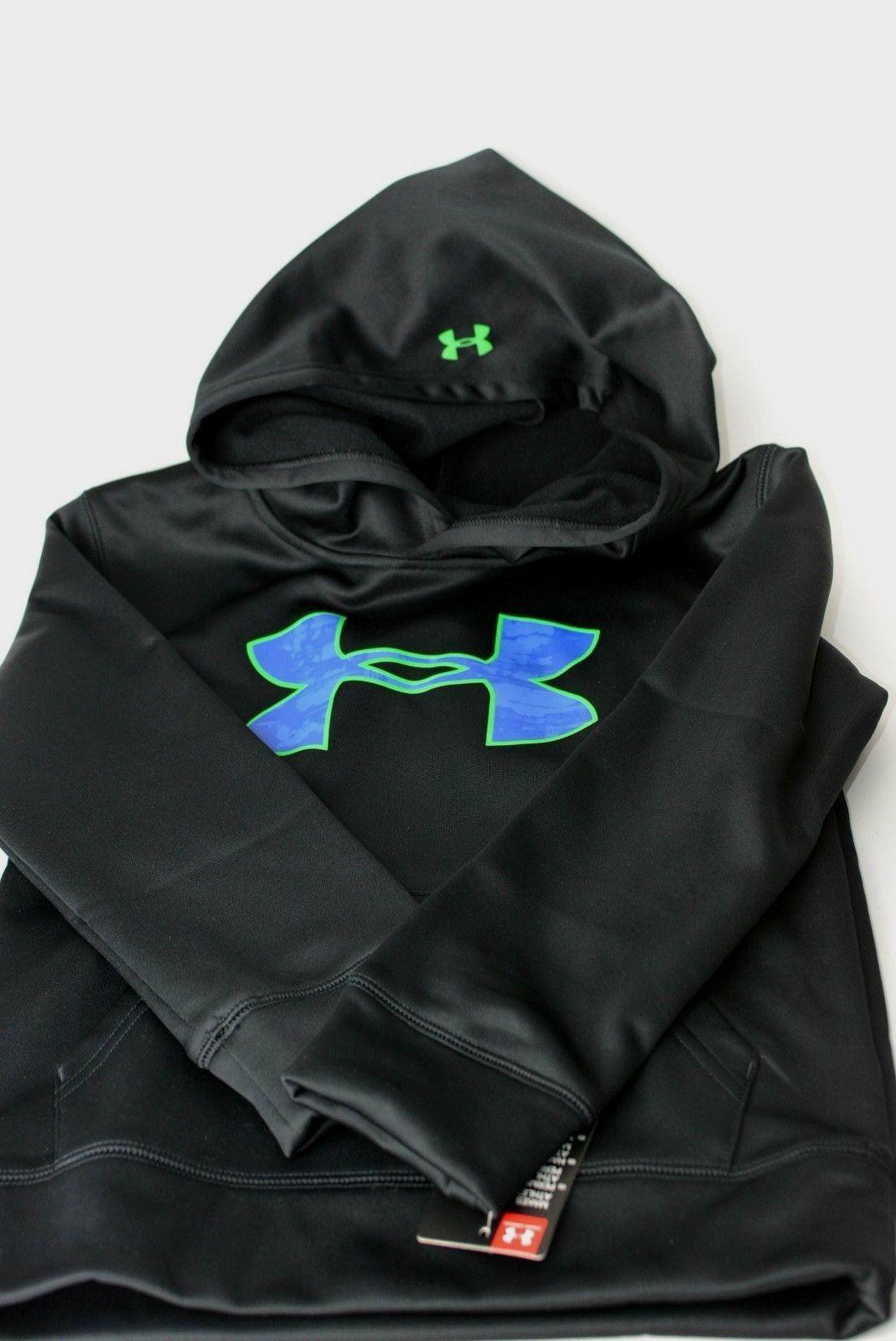 Under-armour-Little-Boys-HD-Big-Logo-Pullover-Hoodie-UA-Sweatshirt-Size-4 thumbnail 11