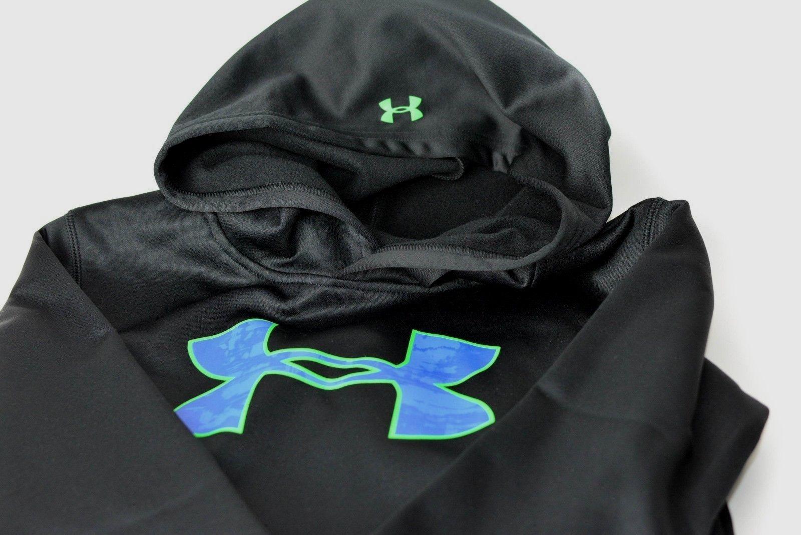 Under-armour-Little-Boys-HD-Big-Logo-Pullover-Hoodie-UA-Sweatshirt-Size-4 thumbnail 10