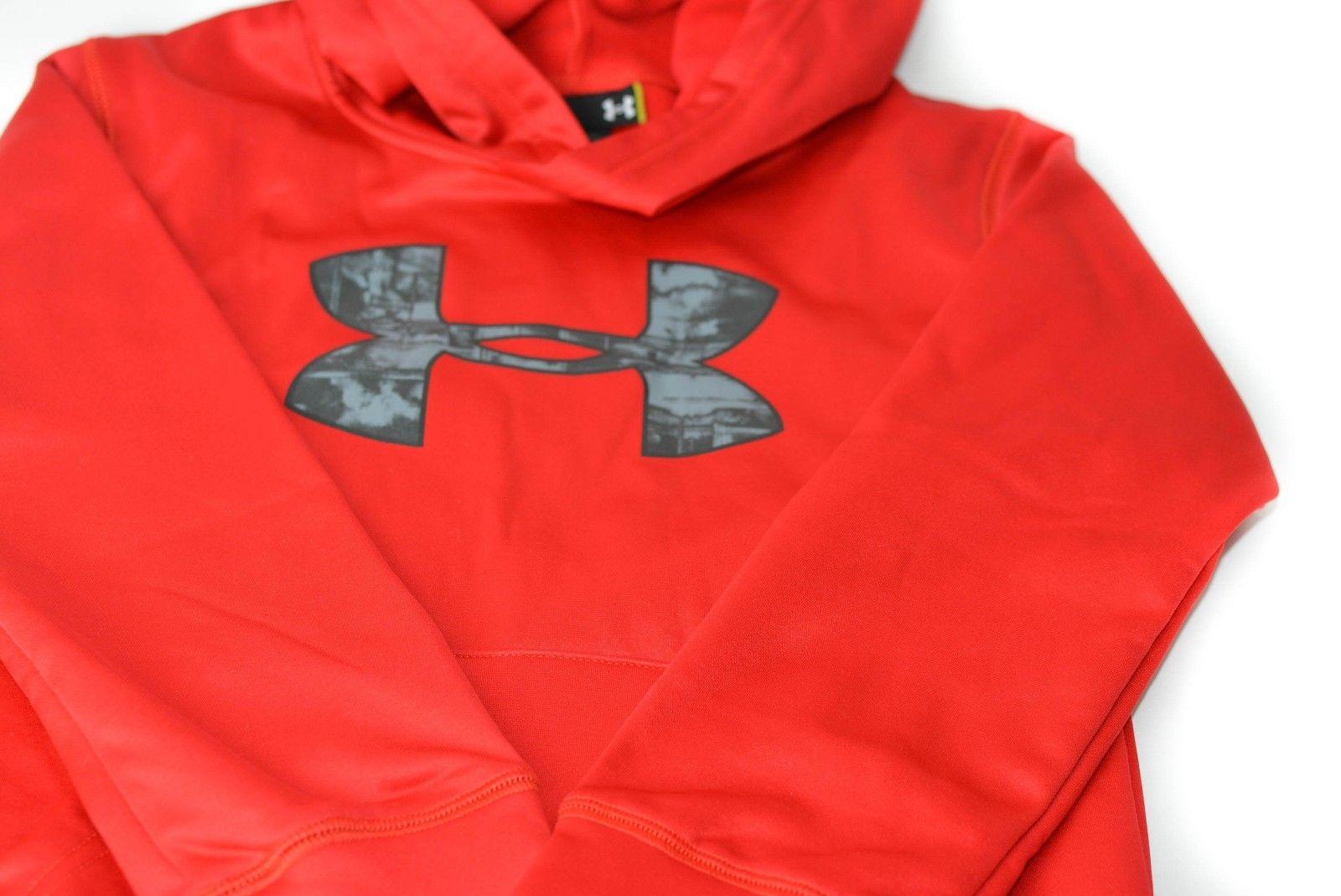 Under-armour-Little-Boys-HD-Big-Logo-Pullover-Hoodie-UA-Sweatshirt-Size-4 thumbnail 6