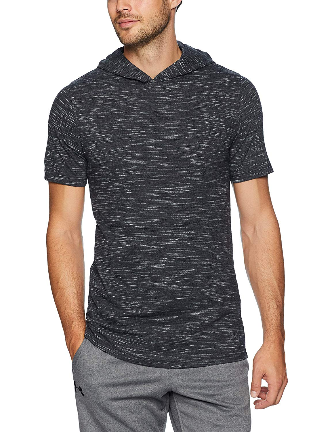 Under-Armour-Mens-Sportstyle-Core-Short-Sleeve-Hoodie-Size-S-L-XL-XXL thumbnail 15