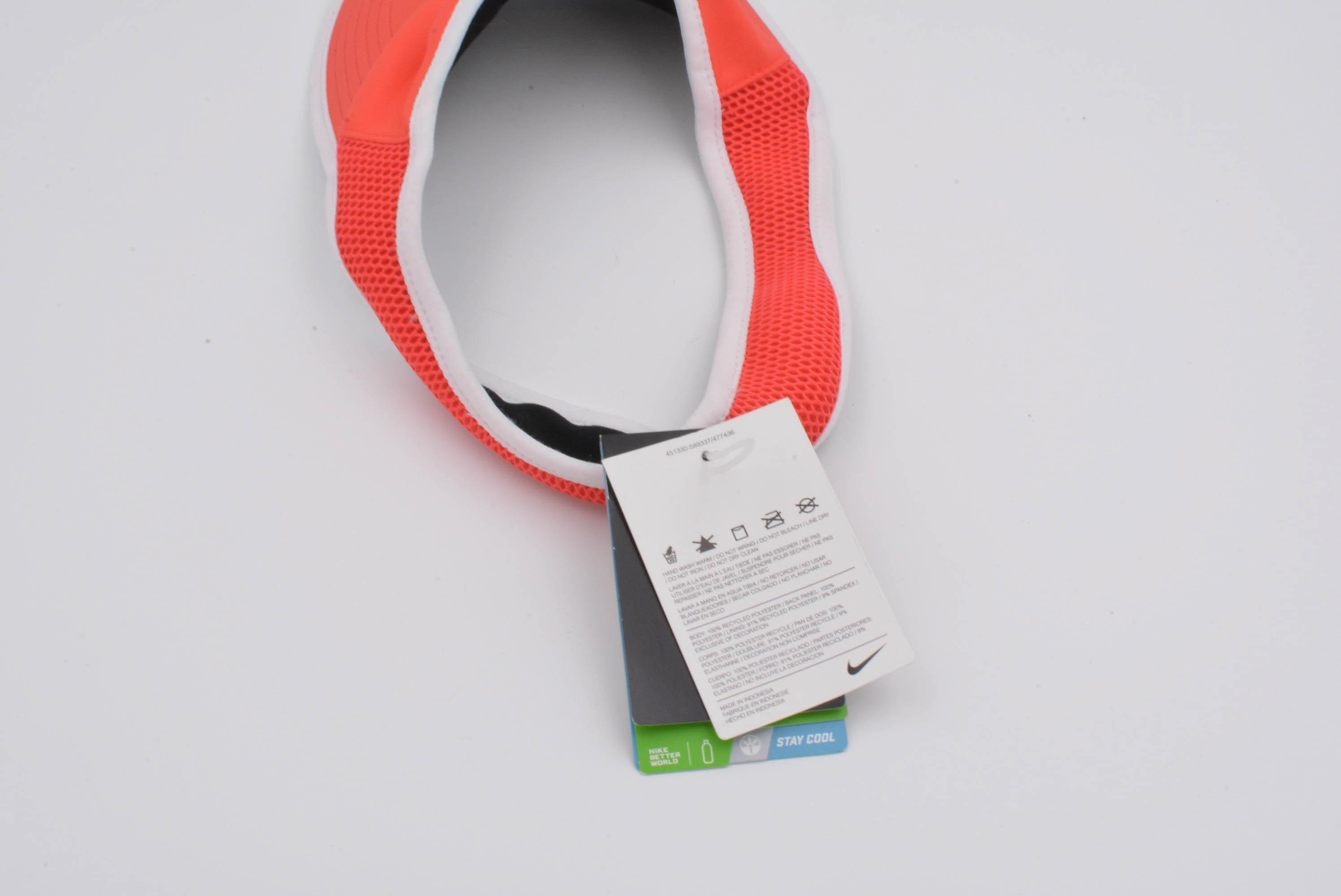 Nike-FEATHERLITE-DRI-FIT-TENNIS-VISOR-HAT-WOMENS-Size-S-M thumbnail 5