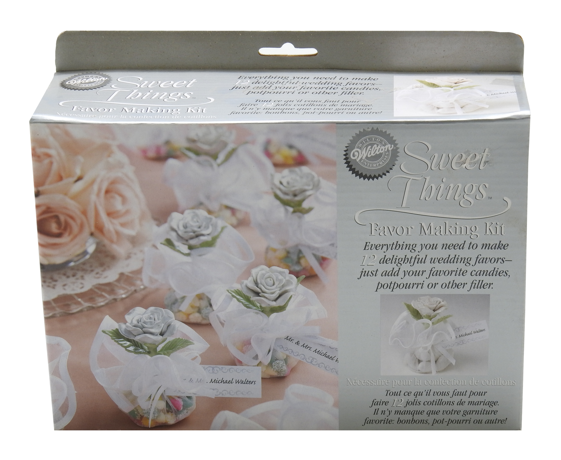 Wilton Ent Sweet Things Favor Making Kit 12 Favors 2 Packs