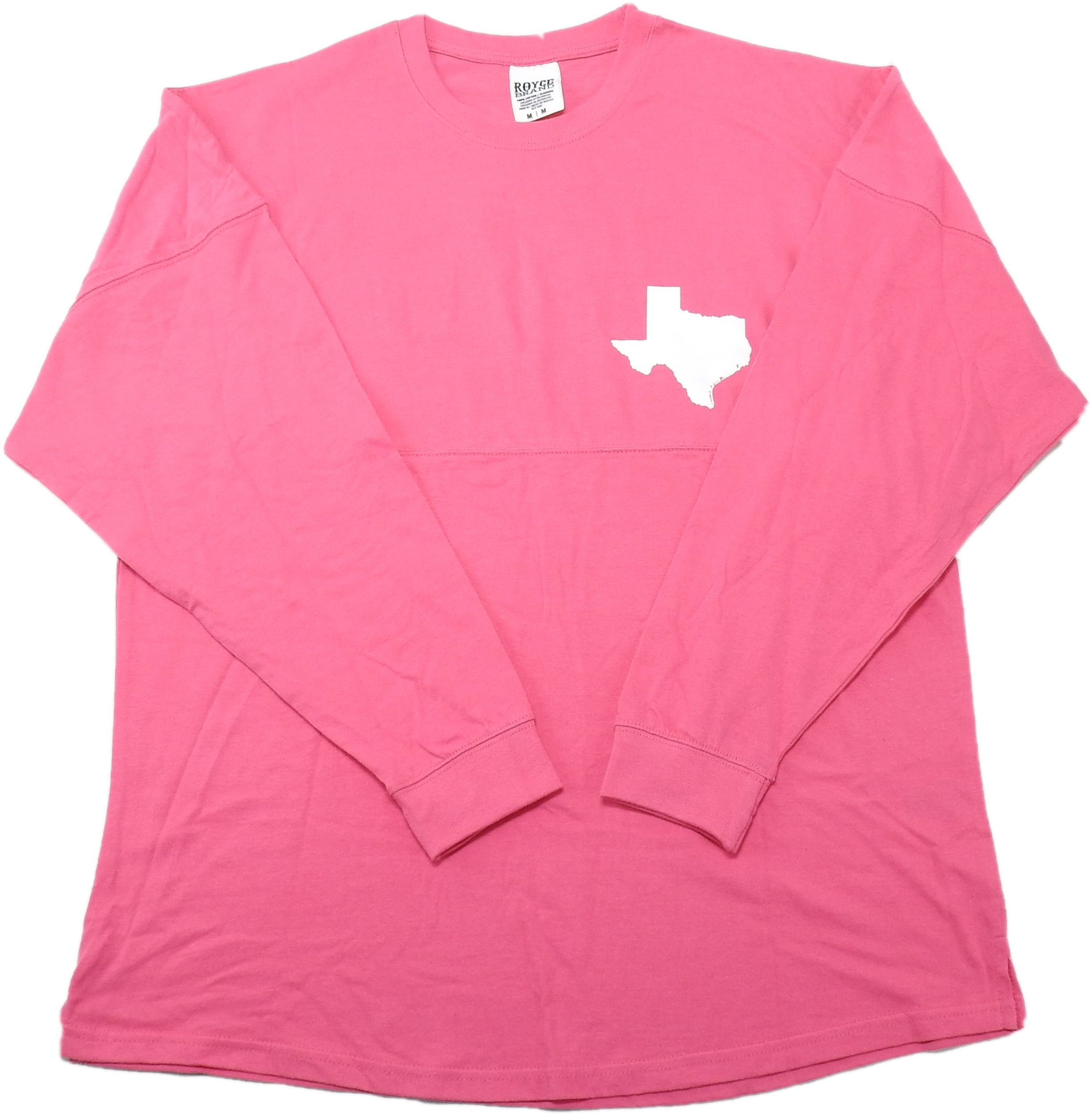 TEXAS Crunchberry ROYCE brand Ladies Long Sleeve Tshirt NEW