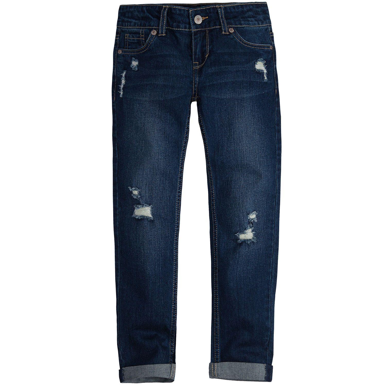 c8c570e3 Levi S Size 12 Relaxed Fit Distressed Denim Boyfriend Jeans