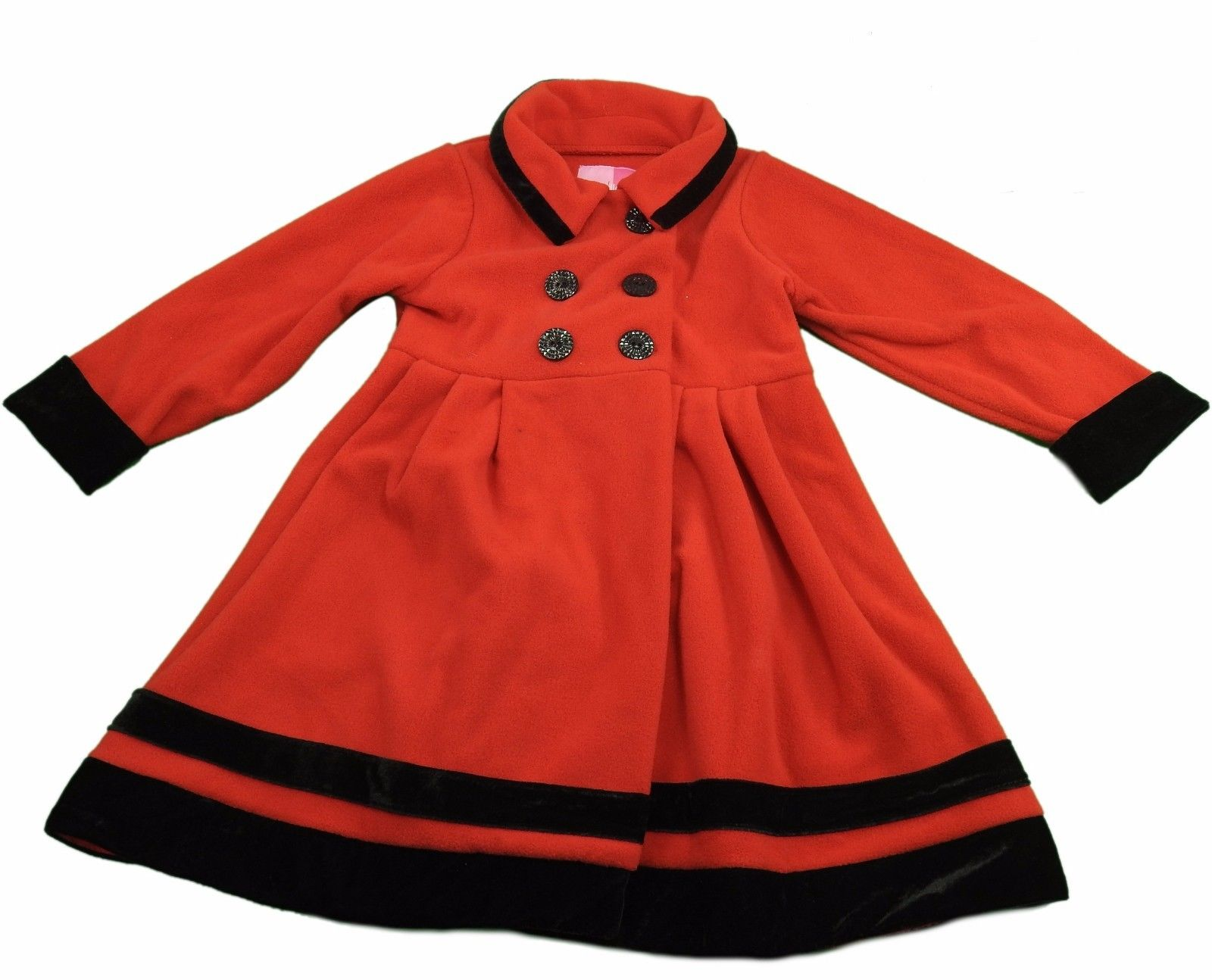 f6d7e76c38cf Good Lad Apparel Baby Girls Size 2T (Toddler) Fleece Coat