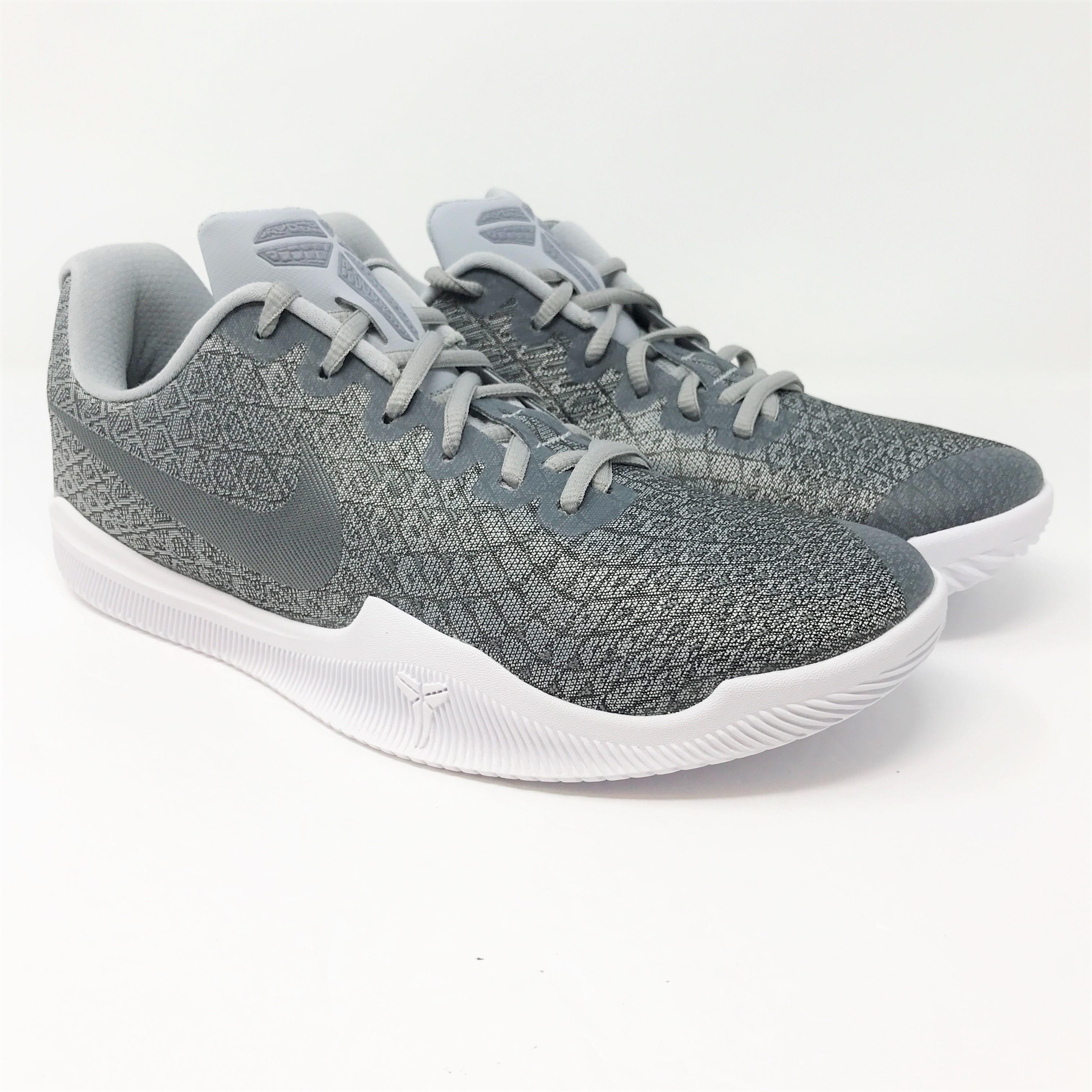 95e4cb6f81b4 Nike Mamba Instinct Men s US Size 8.5 Pure Platinum Basketball Shoes ...