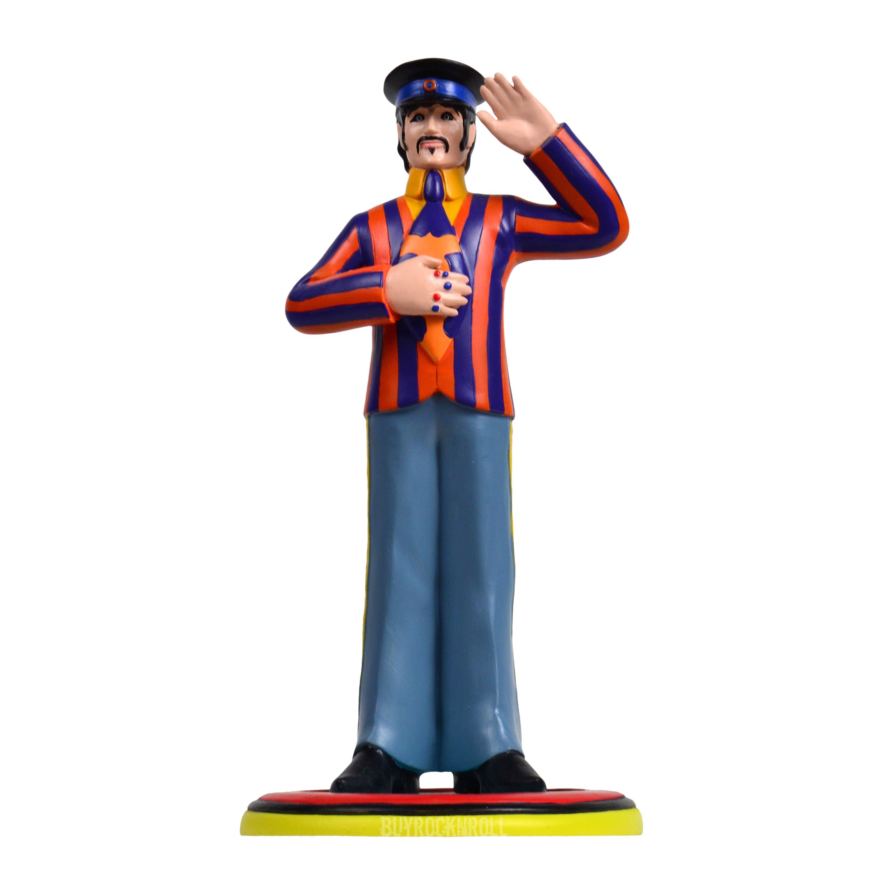 Beatles 2011 Knucklebonz Yellow Submarine Rock Iconz Ringo Statue Figure