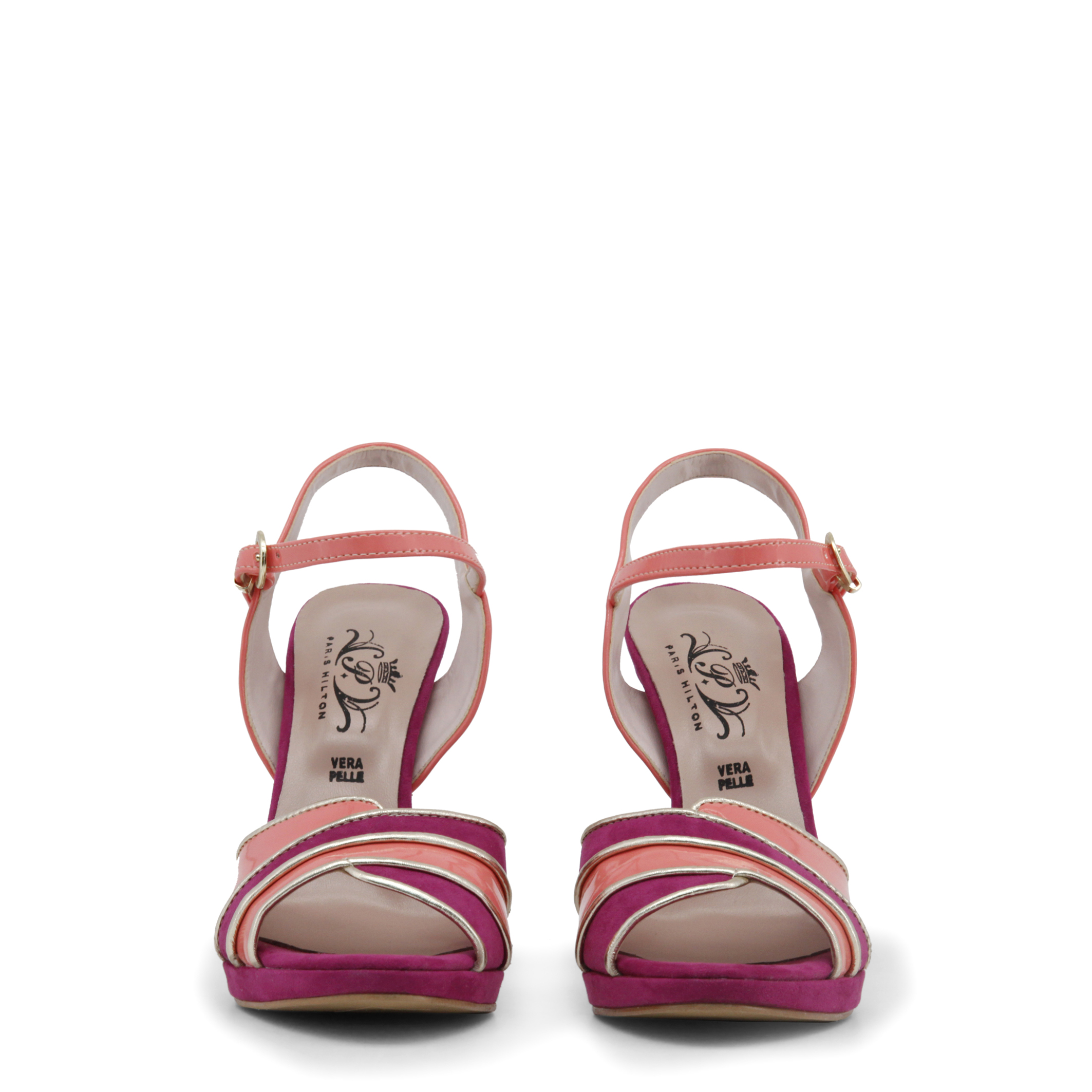 988f51d805cb3e Paris-Hilton-Women-Sandals-8605-Pink thumbnail 6