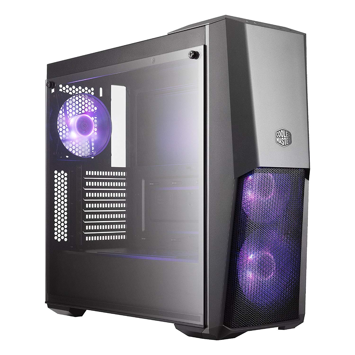 Cooler Master MasterBox Pro 5 ATX Mid Tower Black 3 RGB Fan Gaming Computer Case