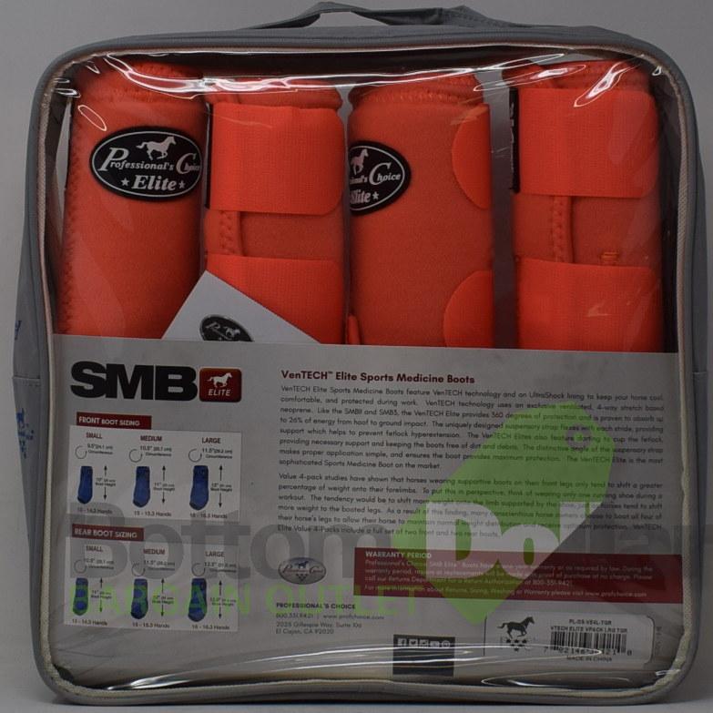 Professional-039-s-Choice-Ventech-Elite-360-Protection-4-Pack-Sports-Medicine-Boots miniature 8