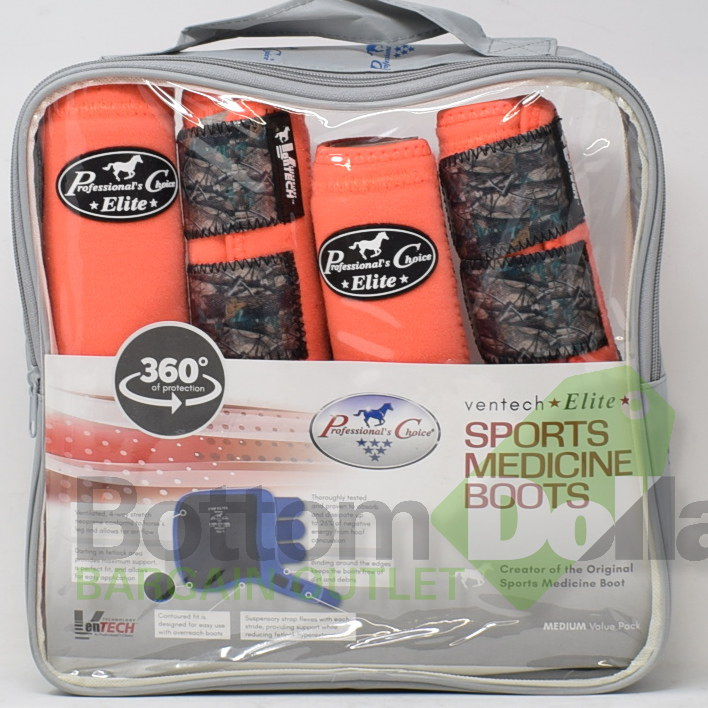 Professional-039-s-Choice-Ventech-Elite-360-Protection-4-Pack-Sports-Medicine-Boots miniature 5