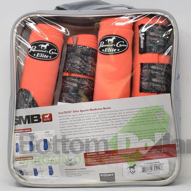 Professional-039-s-Choice-Ventech-Elite-360-Protection-4-Pack-Sports-Medicine-Boots miniature 6