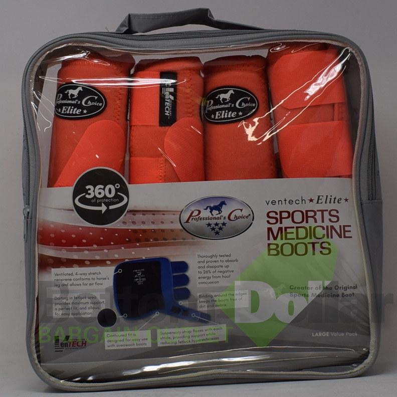 Professional-039-s-Choice-Ventech-Elite-360-Protection-4-Pack-Sports-Medicine-Boots miniature 9