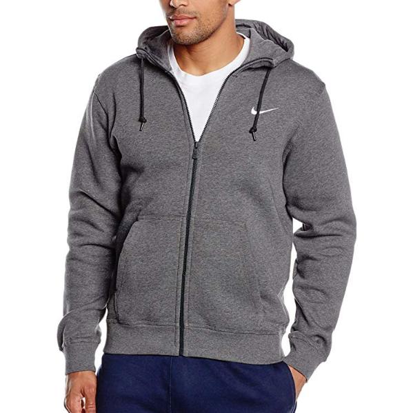 Nike-Men-039-s-Sportswear-Club-Swoosh-Fleece-Full-Zip-Hoodie thumbnail 7