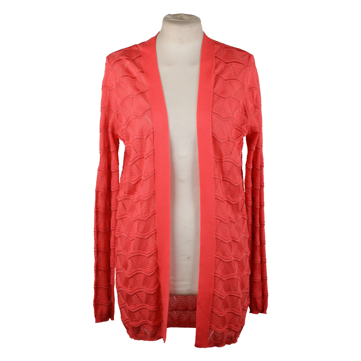 5692007c77d4 M MISSONI Cotton blend cardigan in pink color. Light weight Knit fabric.  Composition  54% Cotton