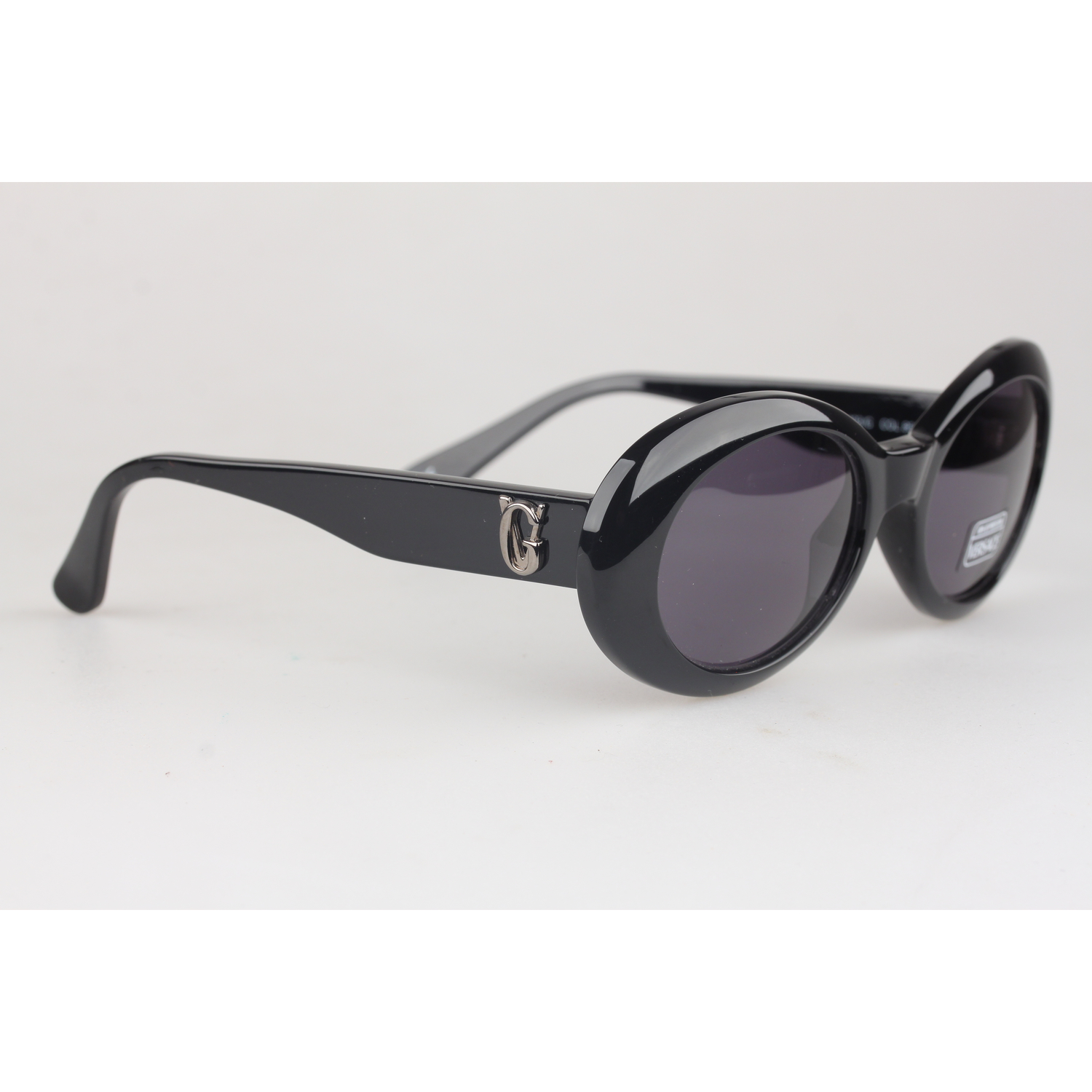 35c50d063138f Authentic Gianni Versace Vintage Black Butterfly Sunglasses 403G New ...