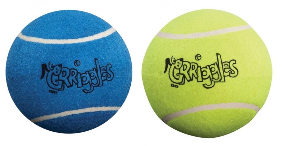 XL Cane Palle da Tennis 12.7cm Durevole Masticare Classic Feltro Giocattolo