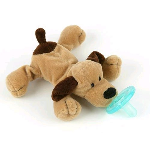 WubbaNub Infant Pacifier ~ Brown Puppy