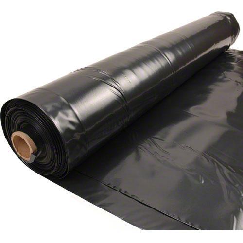 Husky 20 X 100 6 Mil Black Plastic Sheeting Moisture
