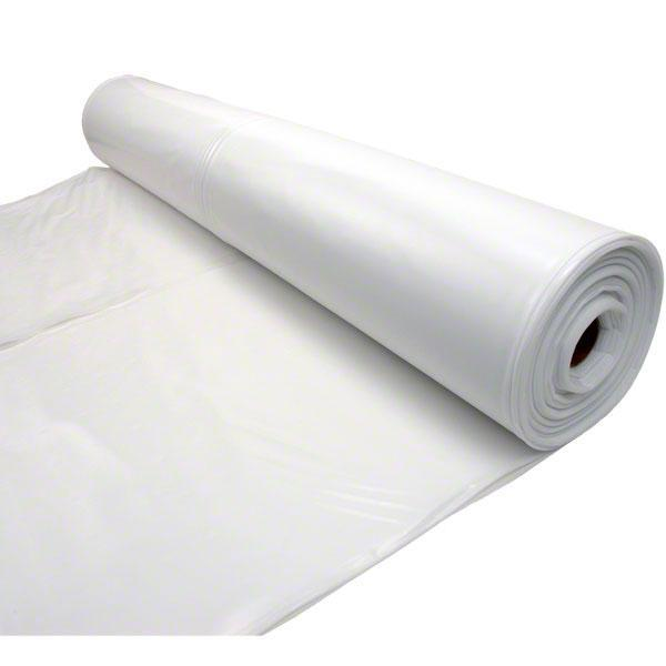 Husky 20 X 100 6 Mil White Plastic Sheeting Moisture