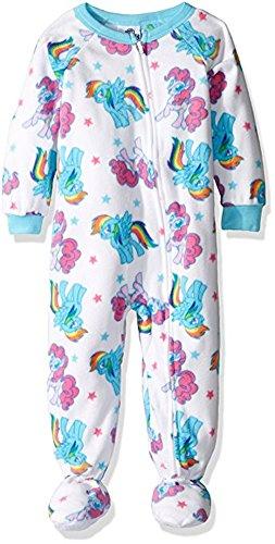 NWT 2T 3T 4T MY LITTLE PONY MOVIE Hooded Blanket Sleeper Pajamas Rainbow Dash!