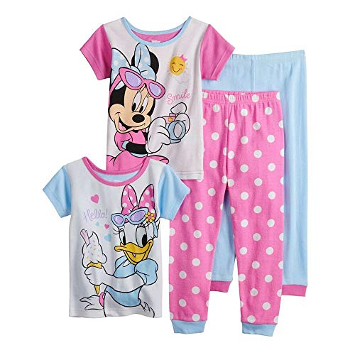 Toddler Girls Minnie and Daisy Better Together Pajama Shorts Set