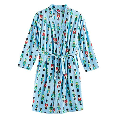 baf99f96dbad Jammies for Your Families Girl s Blue Christmas Holiday Nutcracker ...