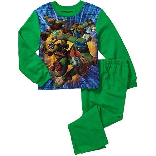 NEW Teenage Mutant Ninja Turtles Pajamas TMNT Figures Outfit Sleep Boys Small