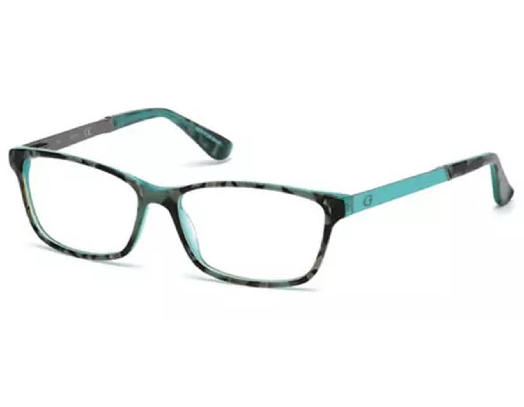 babc0c439f Details about NEW Guess GU 2628 089 55mm Turquoise Optical Eyeglasses Frames