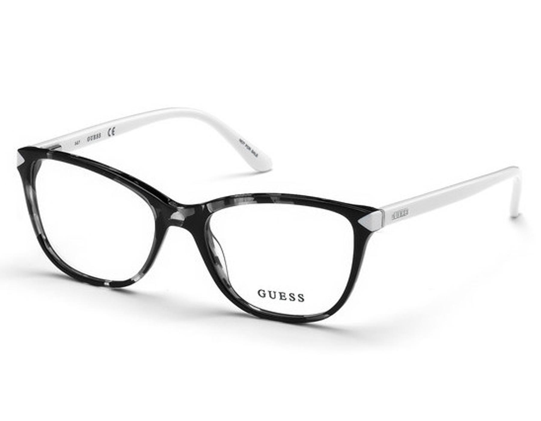 Details about NEW Guess GU 2673 001 53mm Shiny Black Optical Eyeglasses  Frames 1e44db4784