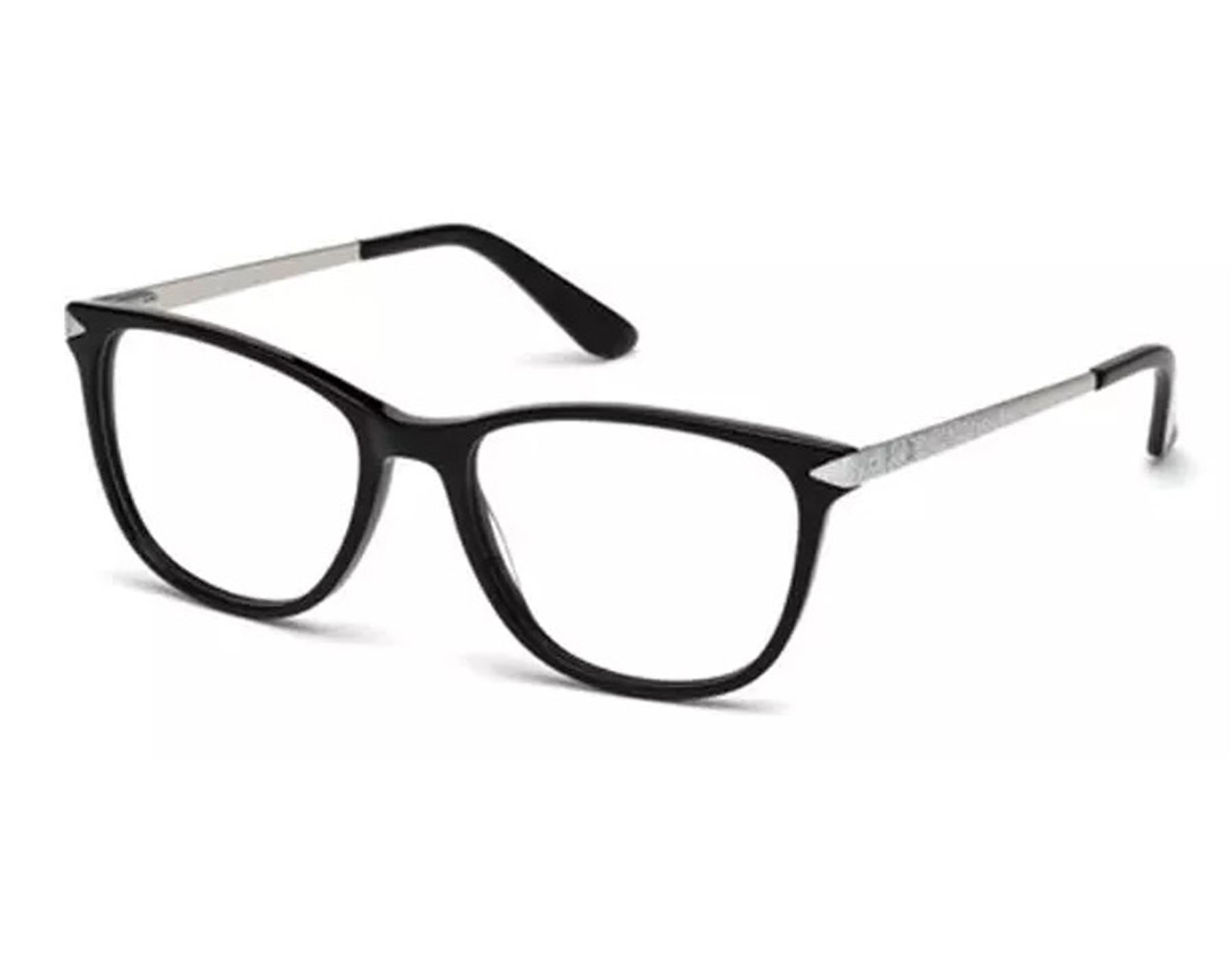 144dd5bdea Details about NEW Guess GU 2684 001 55mm Black Silver Optical Eyeglasses  Frames