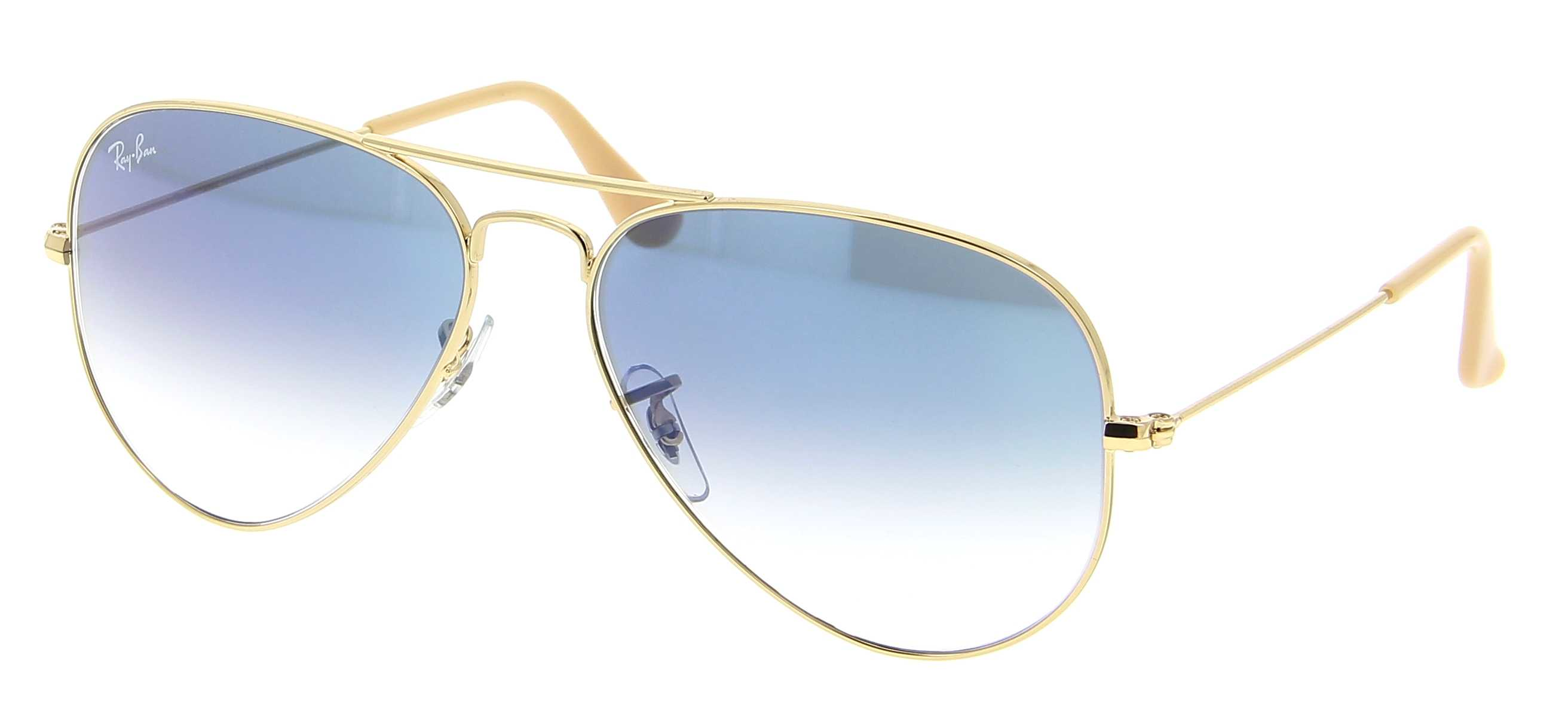 723f70abb4 Details about NEW Ray-Ban 3025-001 3F-58 Gold Sunglasses